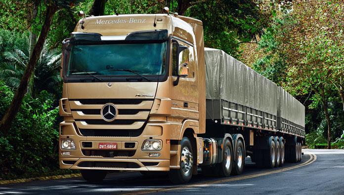 Caminhão Actros