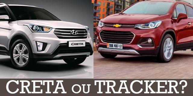 Creta x Tracker - quem pode desafiar HR-V - Portal Lubes