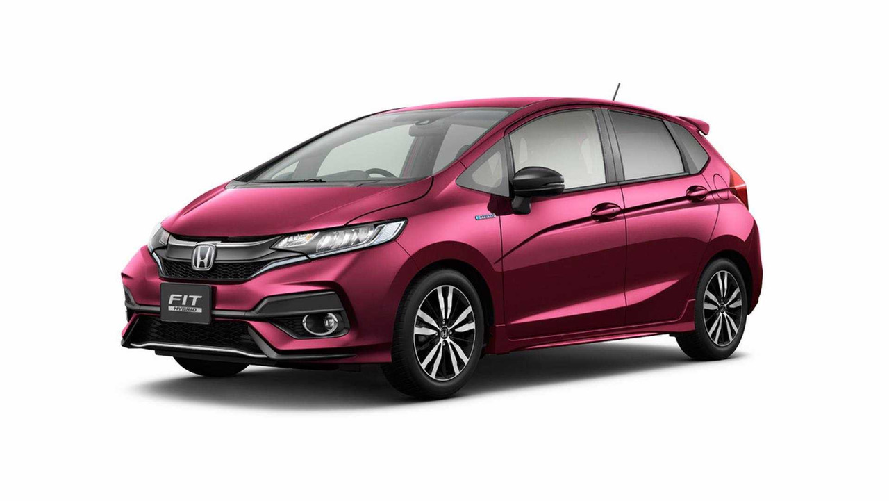 honda fit 2018 revelado com retoques no visual portal lubes. Black Bedroom Furniture Sets. Home Design Ideas