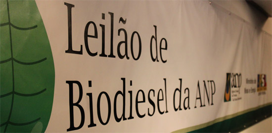 Leilão de Biodiesel da ANP
