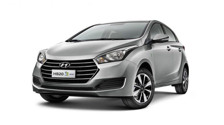 Hyundai lança HB20 5 anos para celebrar aniversário da linha