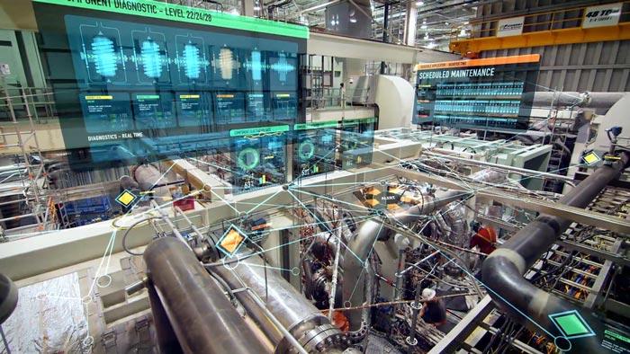 Digitalização será uma tendência importante para a indústria de lubrificantes (Foto cortesia da GE digital)
