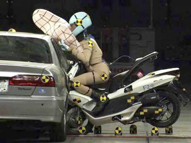 Airbag para scooters