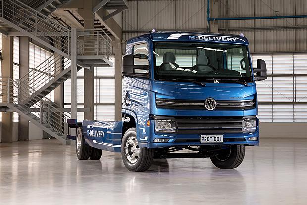 Caminhão elétrico da VW
