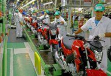 Venda de motos cresce 6,93% no semestre