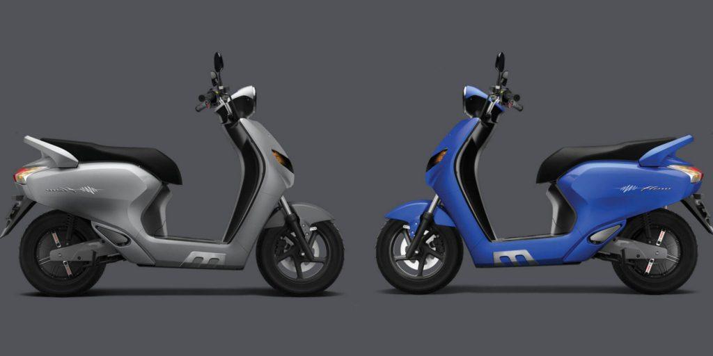 Scooter elétrico conectado mostra o melhor caminho e até a hora da revisão