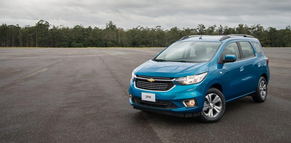 Chevrolet Spin 2019 muda para melhor