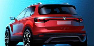 Volkswagen divulga 1ª imagem do T-Cross