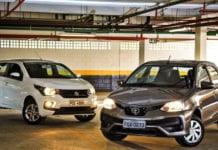 20 carros automáticos mais baratos do Brasil