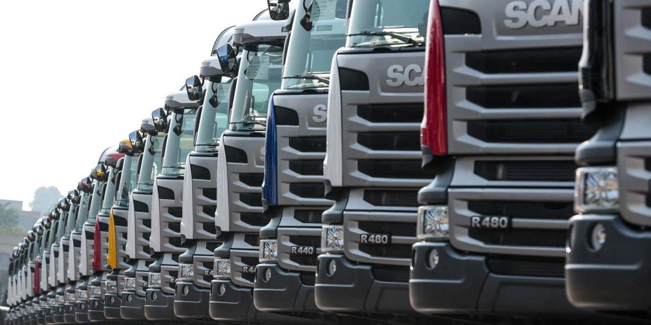 Mercado de caminhões cresce 50% no semestre