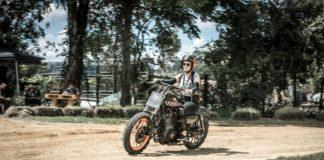 BMS4: Bruna Wladika treina na pista de Flat Track, categoria que será atração no BMS Motorcycle