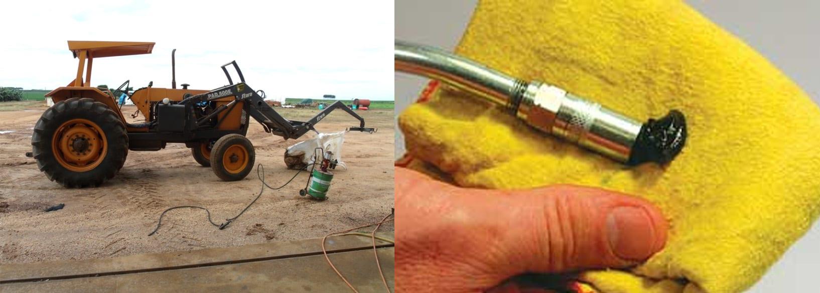 Figuras 9/10 - A limpeza é fundamental na operação de lubrificação à graxa