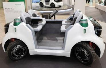 Schaeffler Mover: Novo Conceito de Veículo Urbano Para o Futuro