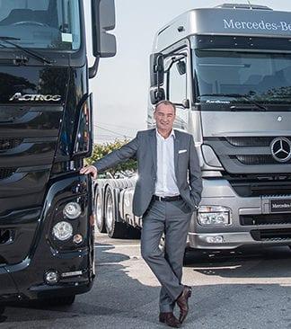 Presidente da Mercedes-Benz teme cenário eleitoral