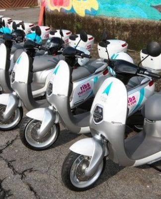 Após os carros, scooter elétrico agora é oferecido para aluguel via aplicativos