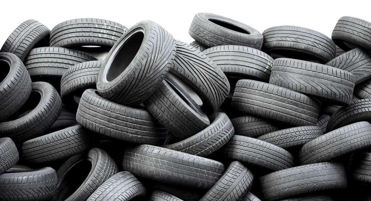 pneus descartados