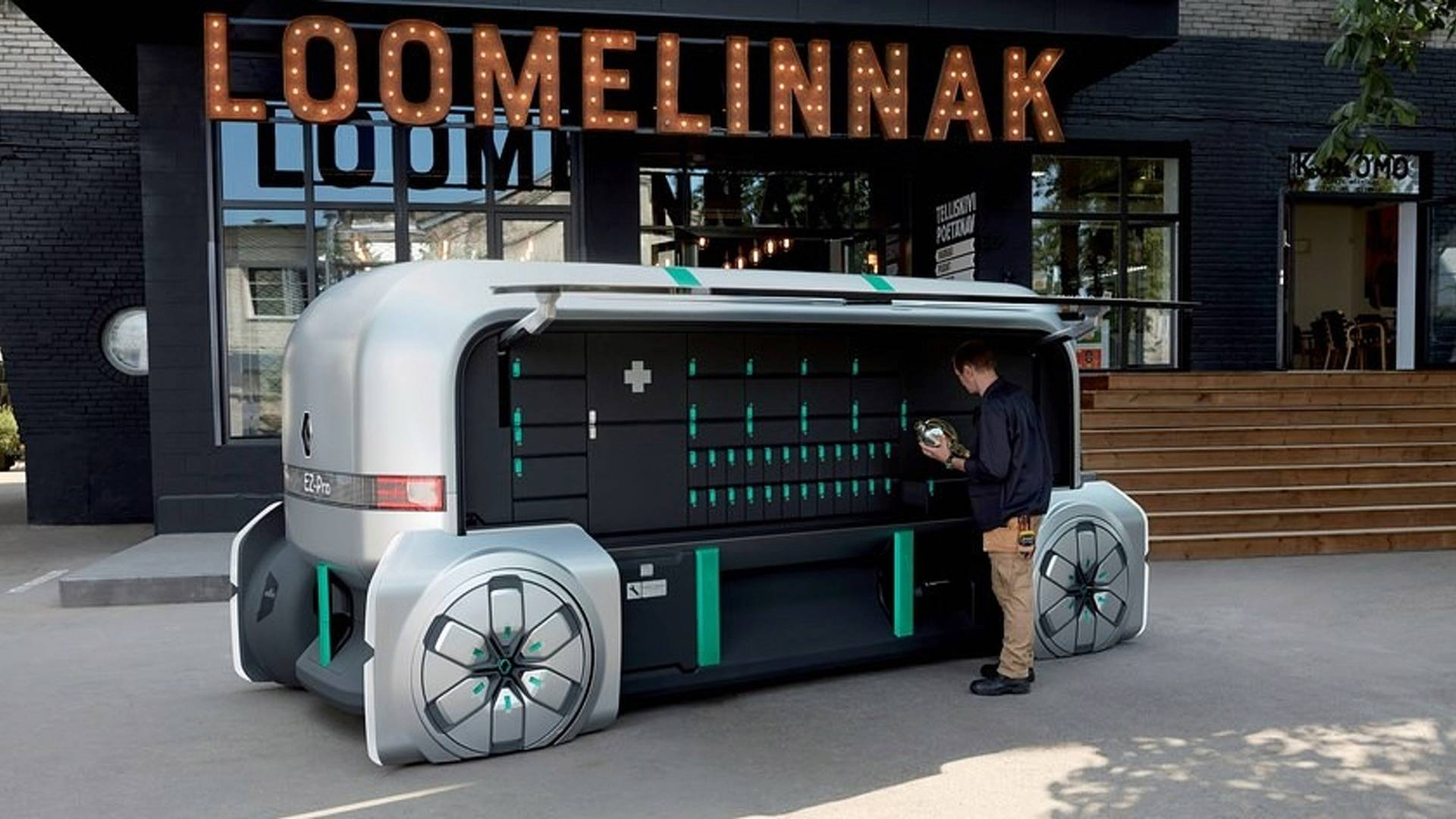 Conceito Renault EZ-Pro imagina como serão entregas autônomas do futuro