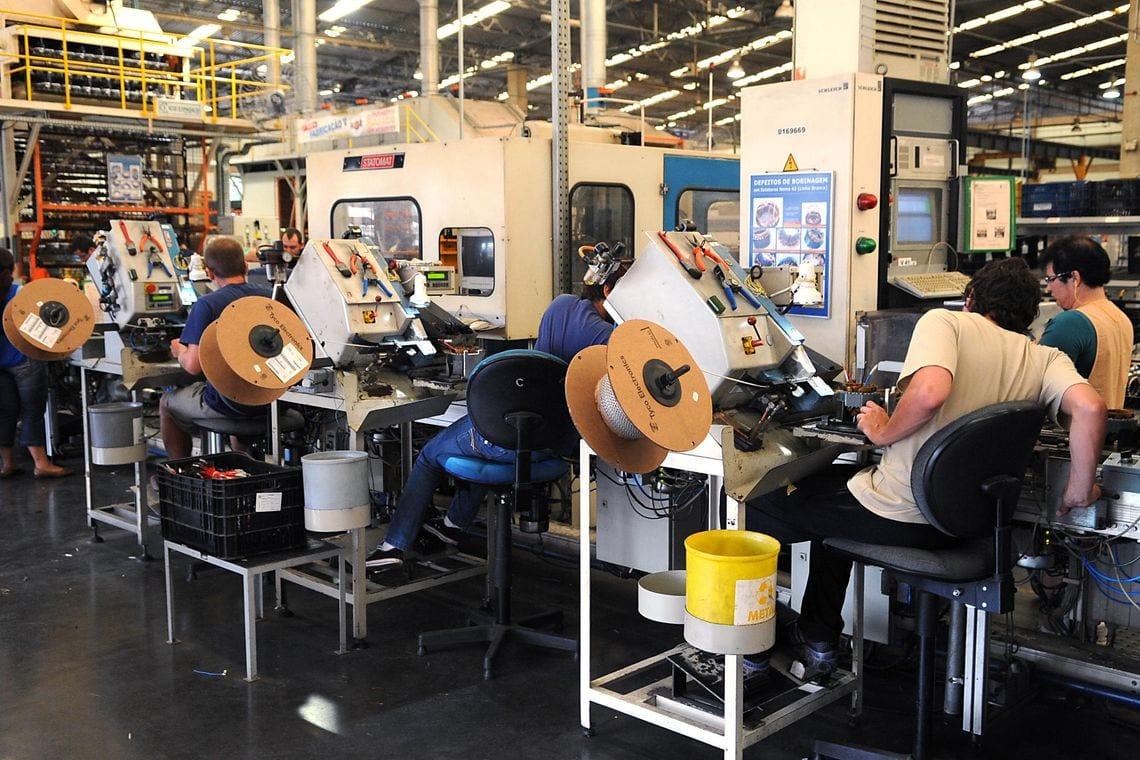 Recuperação da atividade industrial