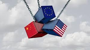 desaceleração do comércio mundial