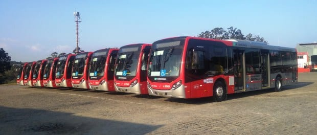 Vendas de ônibus sobem 27,45%