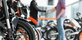 Venda de motos em novembro