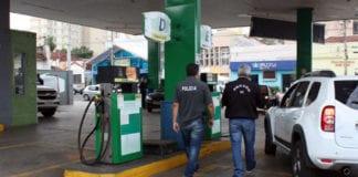 Percentual de conformidade do combustível