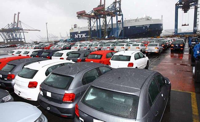 Exportações de veículos