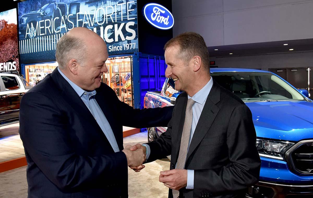 Volkswagem e Ford