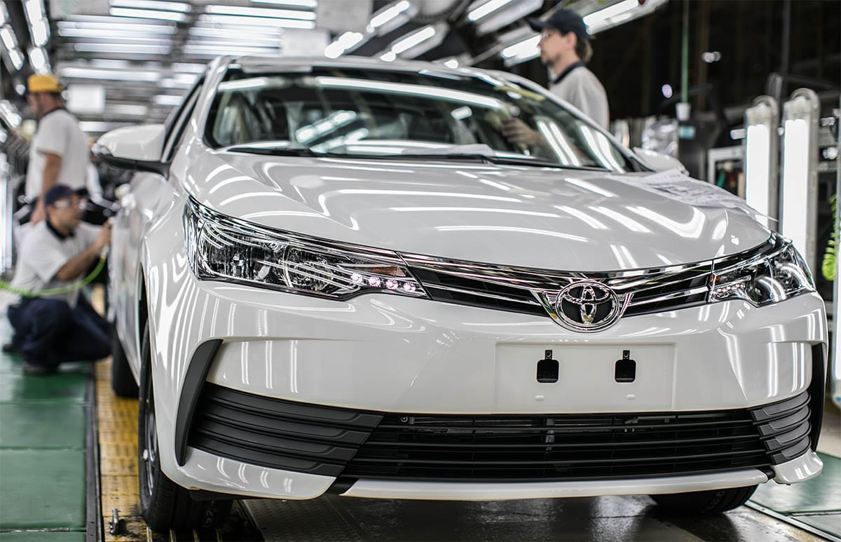 Toyota projeta novo crescimento