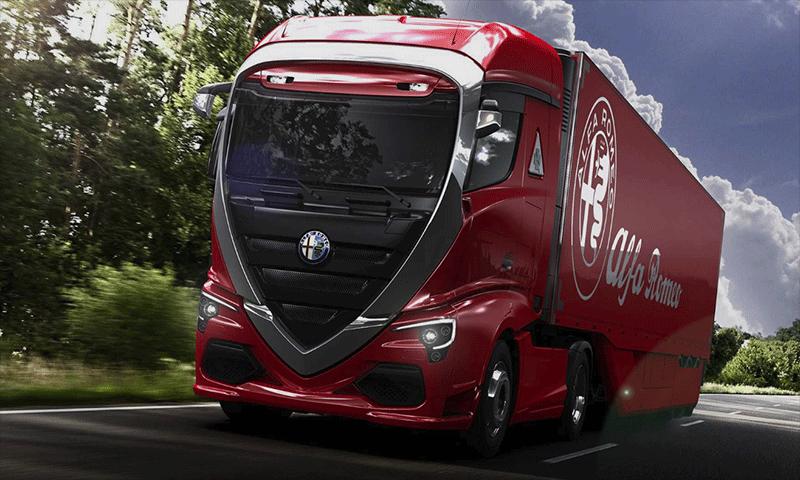 Caminhão da Alfa Romeo