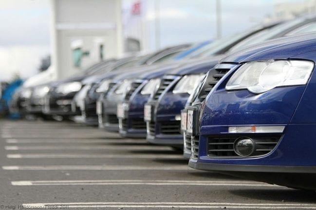 aumento das vendas de automóveis