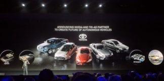 Toyota e Nvidia