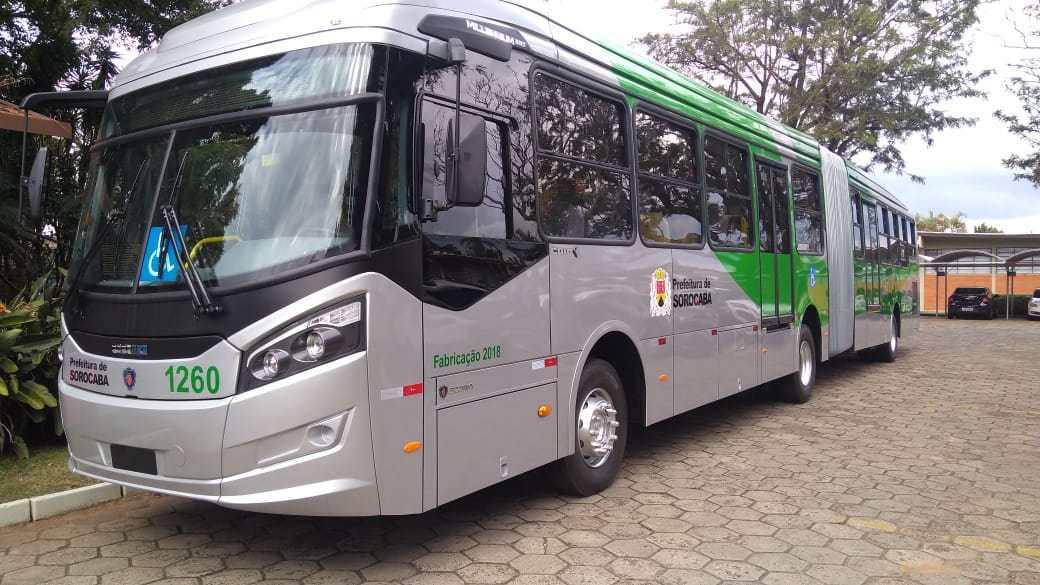 Produção de ônibus