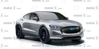 Projeção: SUV elétrico baseado no Ford Mustang vai ganhando forma