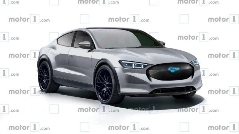 SUV elétrico baseado no Mustang