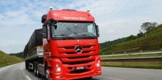 liderança de vendas de caminhões