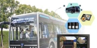 ônibus autônomos