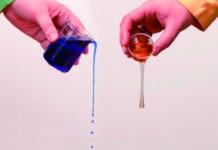 Mistura de lubrificantes
