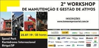 2º WORKSHOP DE MANUTENÇÃO E GESTÃO DE ATIVOS