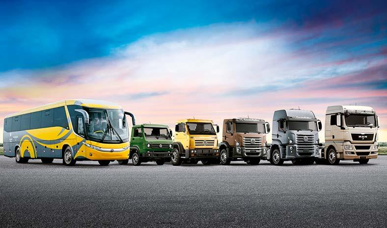 Diesel em veículos pesados