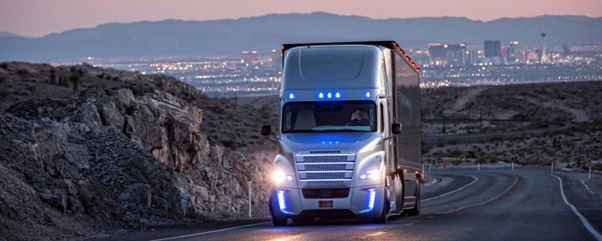 caminhões sem motorista