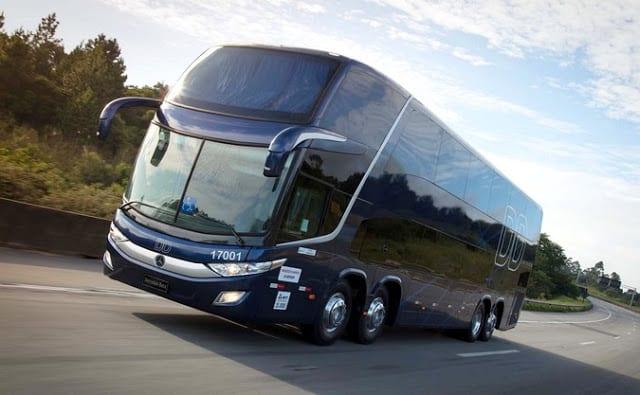 Liderança nas vendas de ônibus