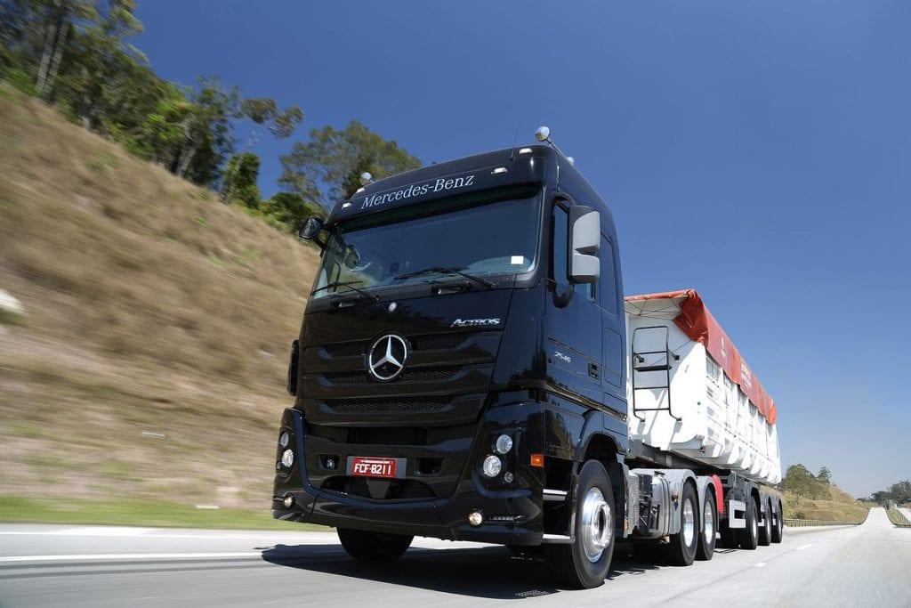 Mercado de caminhões cresce