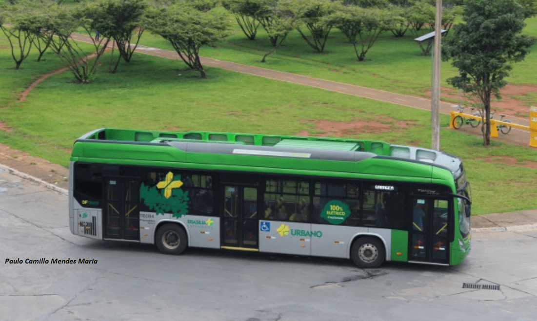 Ônibus 100% elétrico