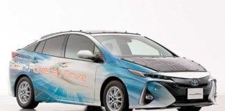 Toyota Priusmovido a energia solar