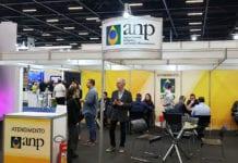 Estande da ANP na ExpoPostos 2019, que aconteceu em São Paulo de 13 a 15 de agosto. / Crédito: Divulgação ANP