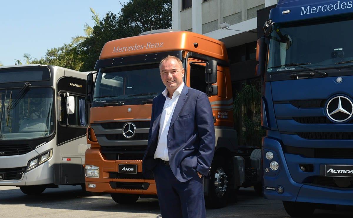 Nova linha de caminhões