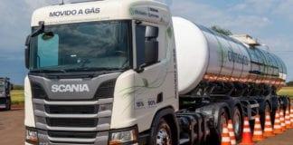 Caminhões a gás