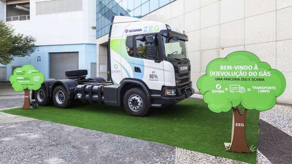 Scania vai começar a produzir caminhões movidos a biometano