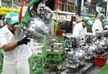 Produção de motocicletas cresce